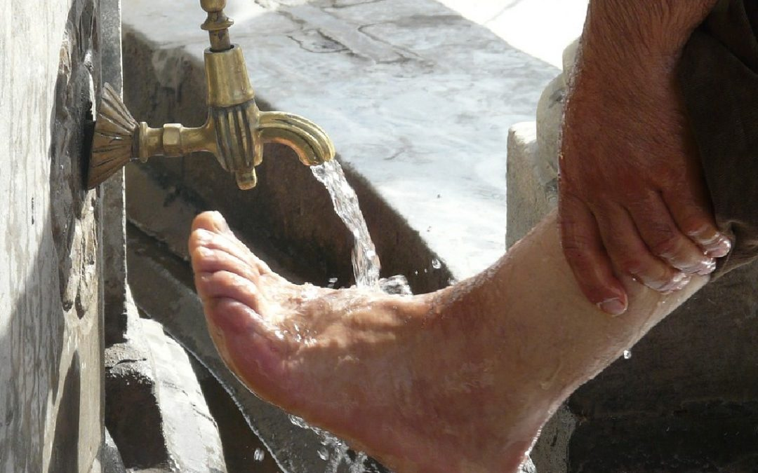 Uw voeten wassen